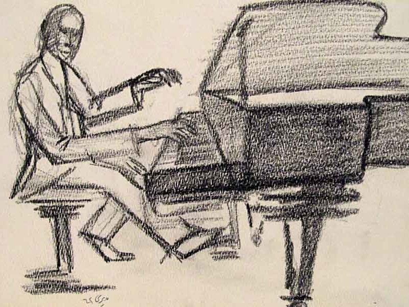 pianist – pencil