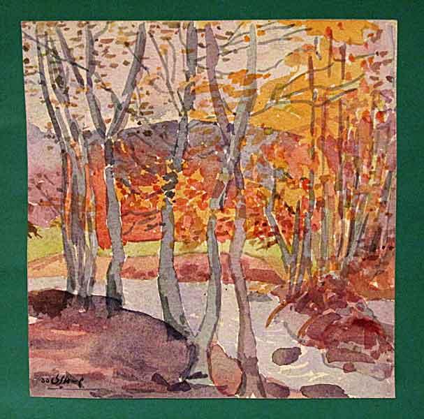 landscape – watercolor