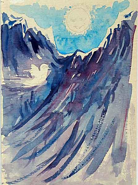 Mountain -Watercolor