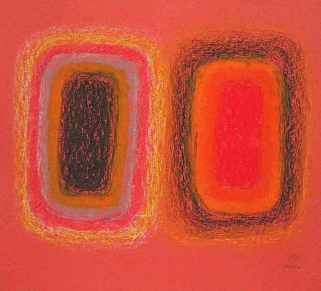 Composition-Oil pastile on paperboard