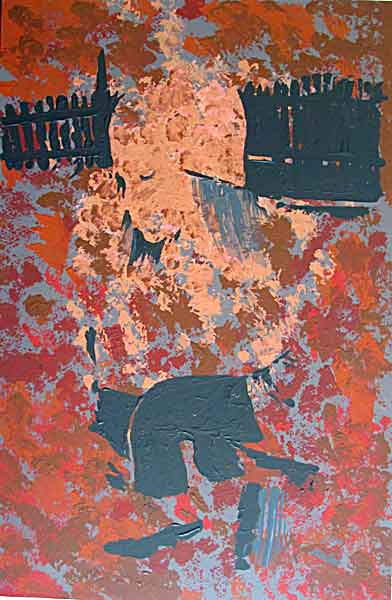 innocence(kid)- acrylic on canvas, 60x90cm. April 2014