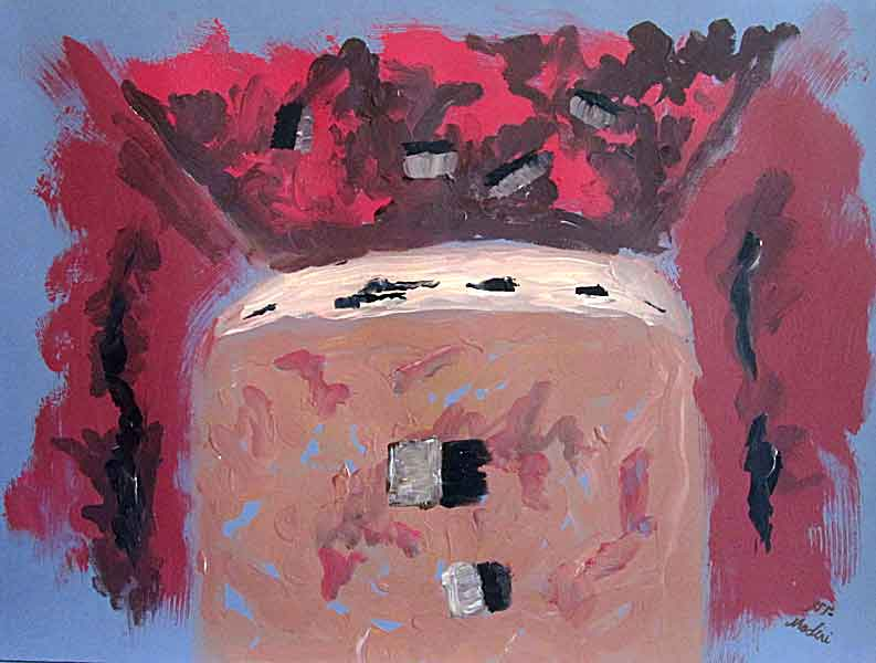 roof : acrylic on canvas , 60x80cm. July2014