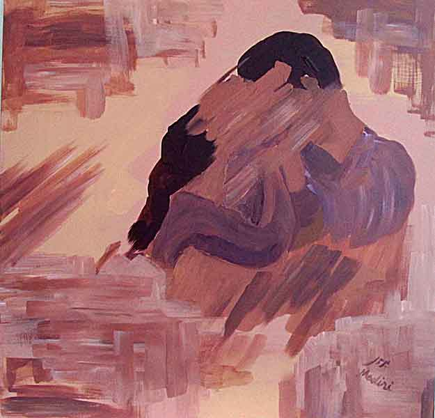 unity : acrylic on canvas, 60x60cm. October2014